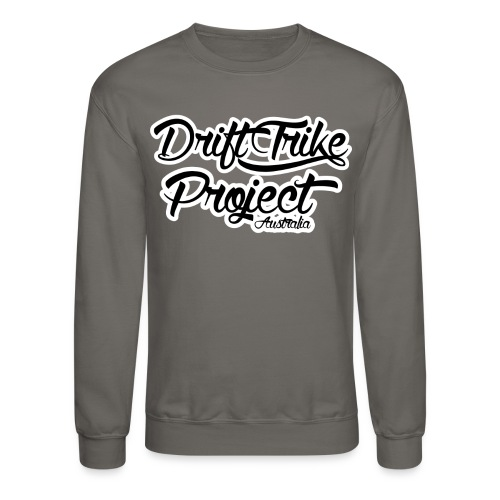 Drift Trike Project Back png - Crewneck Sweatshirt