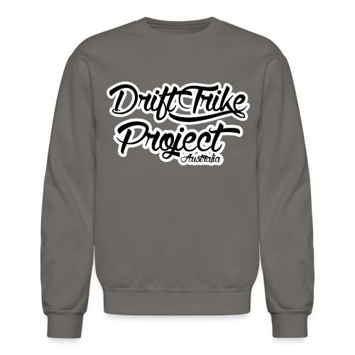 Drift Trike Project Back png - Unisex Crewneck Sweatshirt