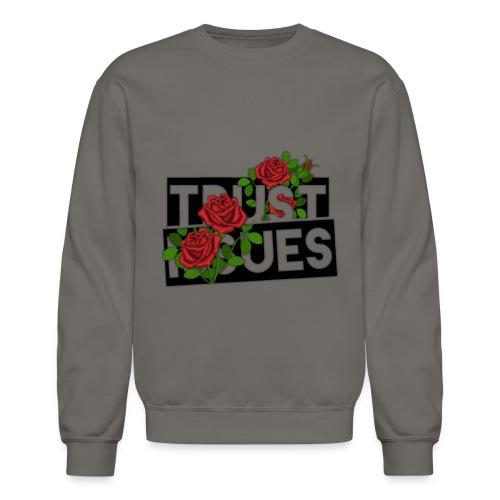 Trust Issues by Bleakasm - Crewneck Sweatshirt