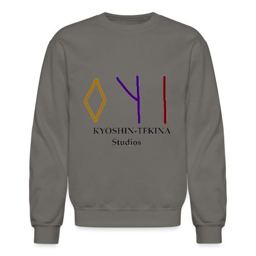 Kyoshin-Tekina Studios logo (black test) - Crewneck Sweatshirt