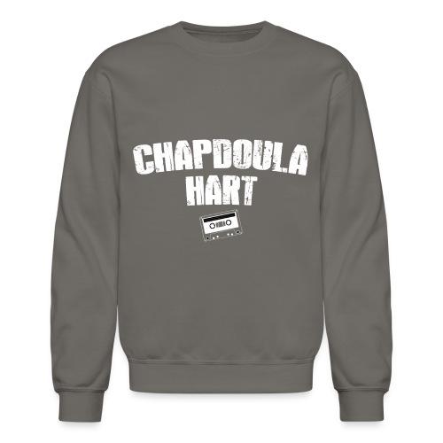 CHAPDOULA_cassette_BLANC - Crewneck Sweatshirt