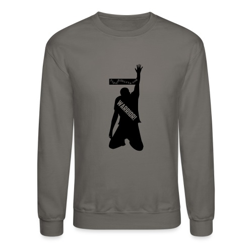 warrior shirt front - Crewneck Sweatshirt