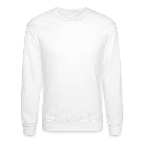 SMS White Logo - Crewneck Sweatshirt