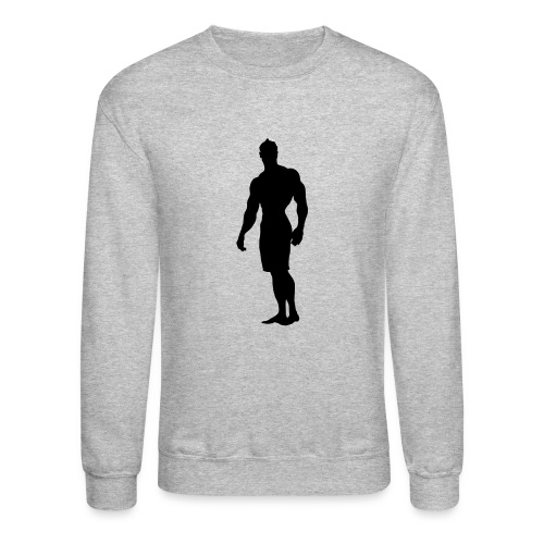 Mens Physique Competitor 3 - Crewneck Sweatshirt