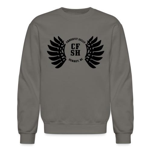 CFSH-Black - Unisex Crewneck Sweatshirt