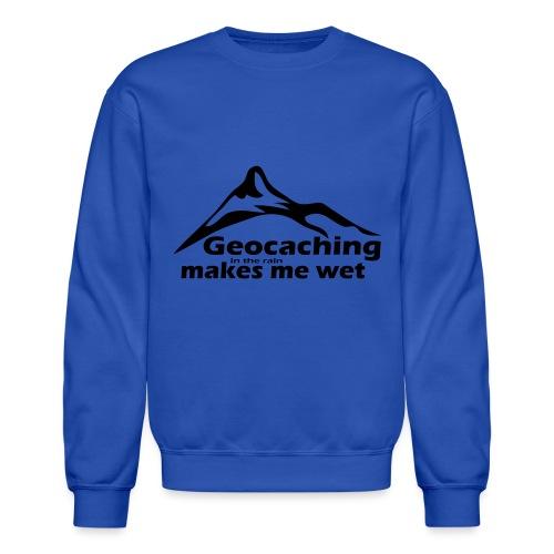 Wet Geocaching - Crewneck Sweatshirt