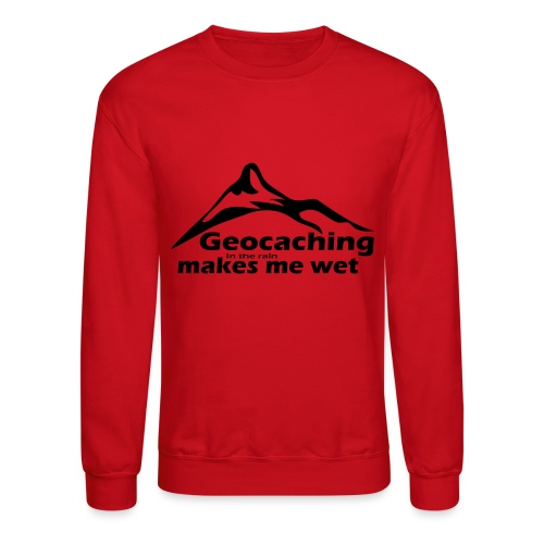 Wet Geocaching - Crewneck Sweatshirt