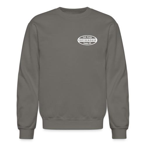 whitebig pixel - Unisex Crewneck Sweatshirt