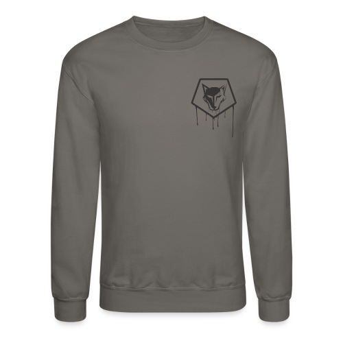 the drip crest - Crewneck Sweatshirt
