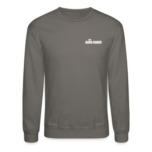 Axon Radio | White night apparel. - Unisex Crewneck Sweatshirt