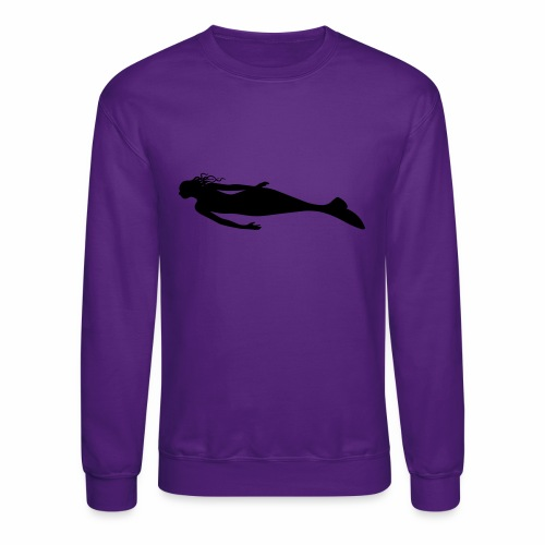 Mermaid — You choose the design's & shirt's colour - Crewneck Sweatshirt