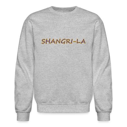 Shangri La gold blue - Crewneck Sweatshirt