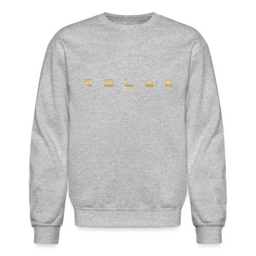 Relax gold - Crewneck Sweatshirt
