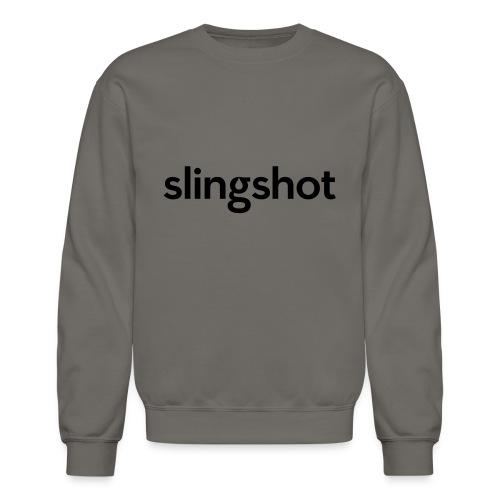 SlingShot Logo - Unisex Crewneck Sweatshirt