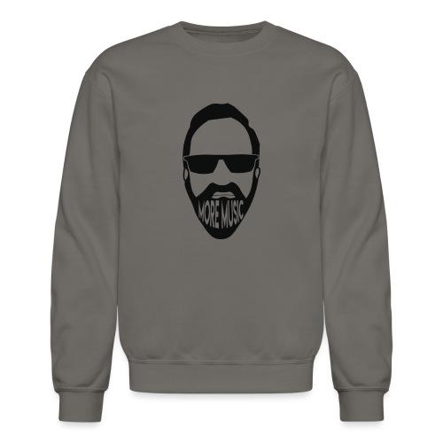 Joey D More Music front image multi color options - Unisex Crewneck Sweatshirt