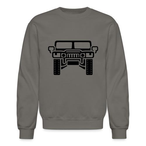 Hummer/Humvee illustration - Crewneck Sweatshirt