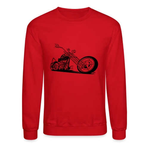 Custom American Chopper Motorcycle - Crewneck Sweatshirt