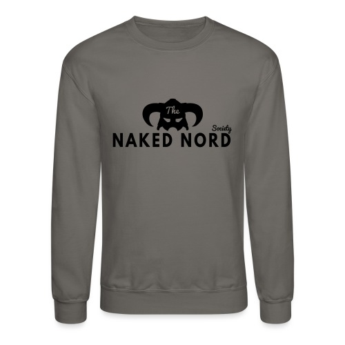 The Naked Nord Society - Unisex Crewneck Sweatshirt