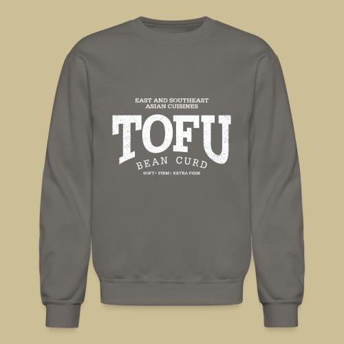 Tofu (white oldstyle) - Unisex Crewneck Sweatshirt