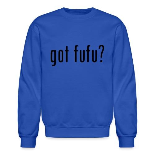 gotfufu-black - Unisex Crewneck Sweatshirt
