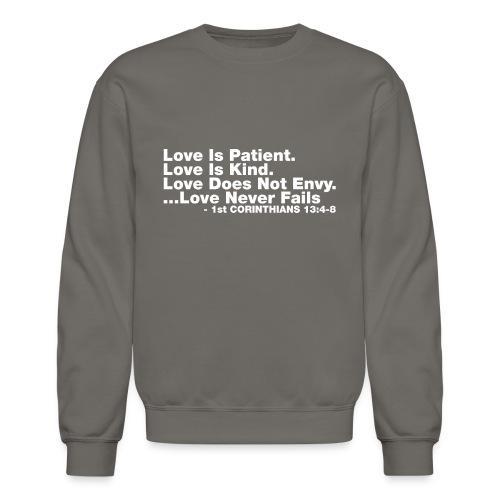 Love Bible Verse - Crewneck Sweatshirt