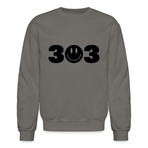 3 Smiley 3 - Unisex Crewneck Sweatshirt