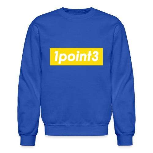 1point3 yellow - Crewneck Sweatshirt