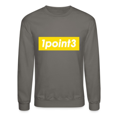1point3 yellow - Unisex Crewneck Sweatshirt