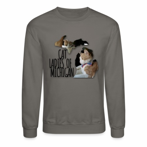 Cat Ladies of Michigan - Crewneck Sweatshirt