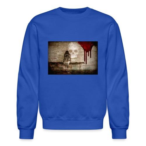 sad girl - Crewneck Sweatshirt