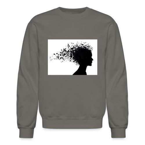 music through my head - Crewneck Sweatshirt