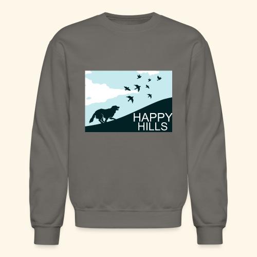 Happy hills - Crewneck Sweatshirt