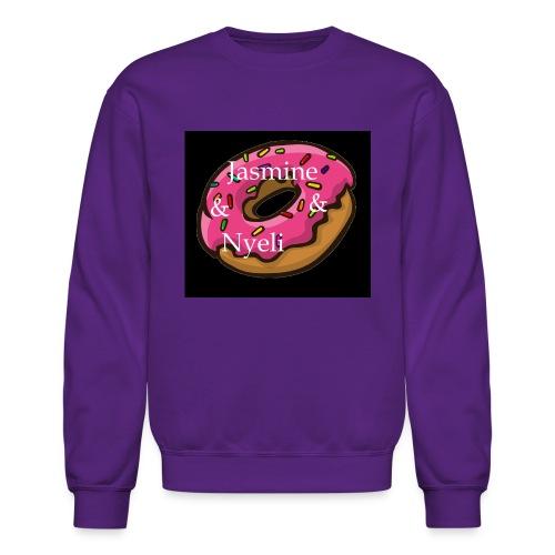 Black Donut W/ Our Channel Name - Crewneck Sweatshirt
