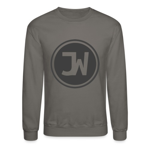Grey Johannes With Logo - Crewneck Sweatshirt