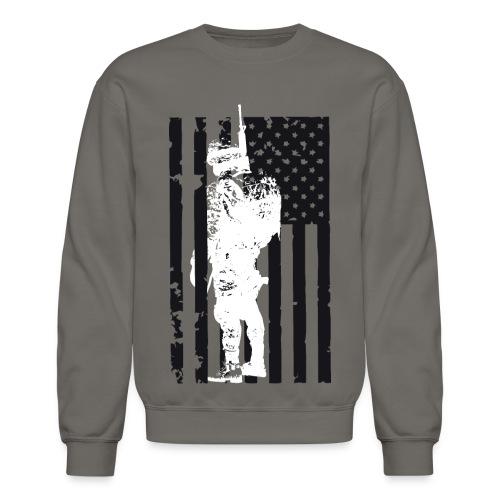 SOLDIER FLAG - Crewneck Sweatshirt