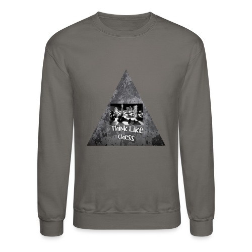 Think Like Chess Logo - Crewneck Sweatshirt