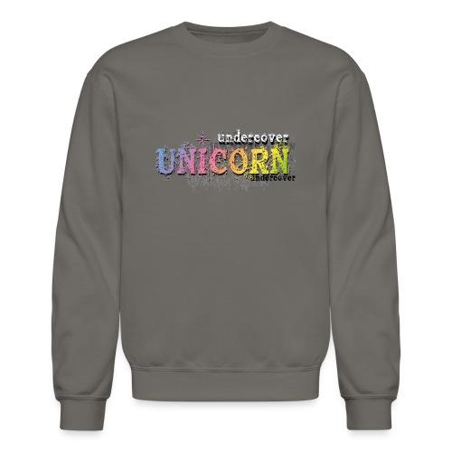 Undercover Unicorn - Crewneck Sweatshirt