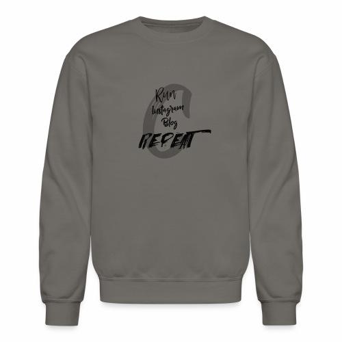 RunInstagramBlog - Unisex Crewneck Sweatshirt