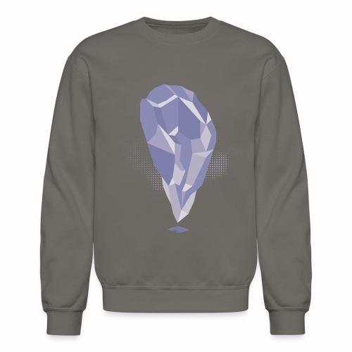 Amethyst Crystal design - Crewneck Sweatshirt