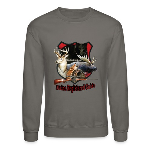 Maine Registerd Guide - Unisex Crewneck Sweatshirt