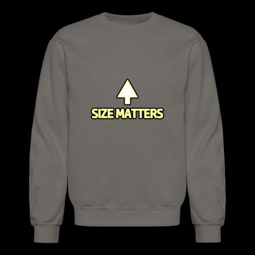 Size Matters - Girls - Crewneck Sweatshirt