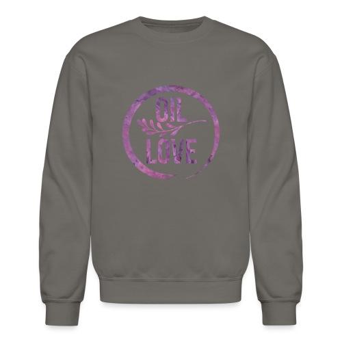 Oil Love Purple - Crewneck Sweatshirt