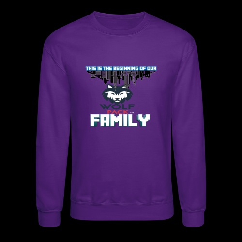 We Are Linked As One Big WolfPack Family - Crewneck Sweatshirt