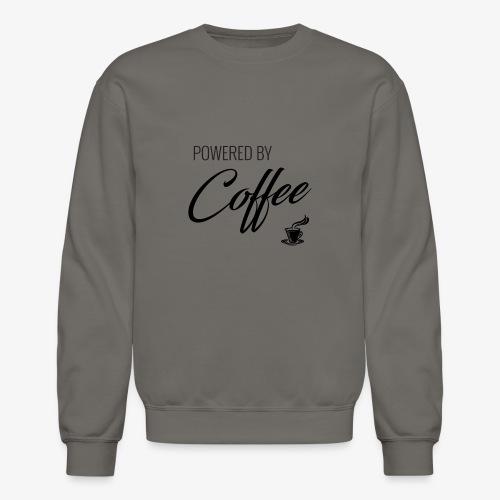 Powered by Coffee - Crewneck Sweatshirt