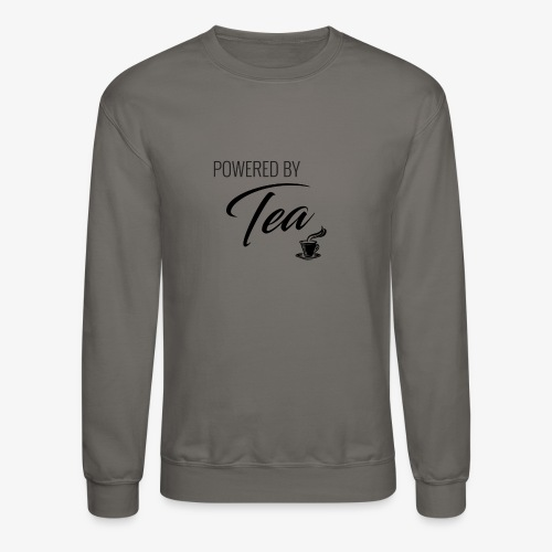 Powered by Tea - Crewneck Sweatshirt