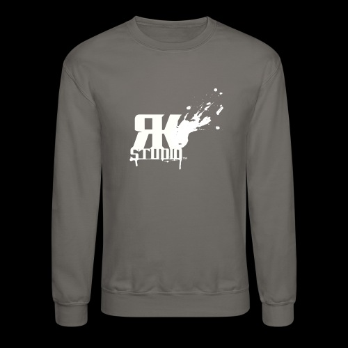 RKStudio White Logo Version - Crewneck Sweatshirt