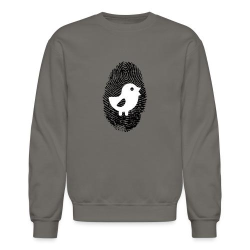 Chick Finger Print - Crewneck Sweatshirt