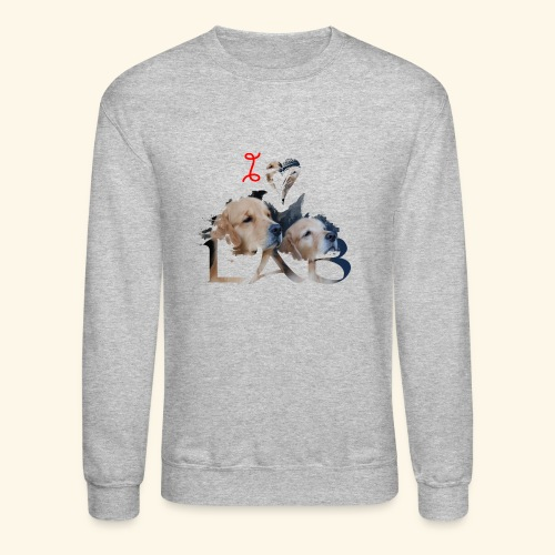 I love Lab - Crewneck Sweatshirt