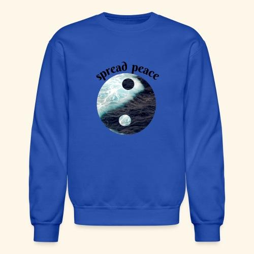 spread peace - Crewneck Sweatshirt
