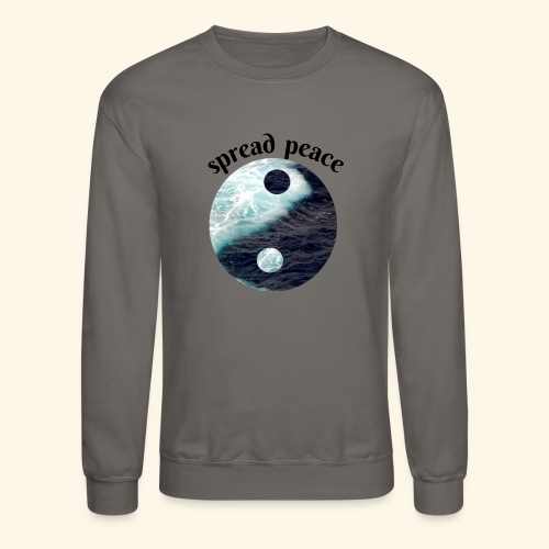 spread peace - Crewneck Sweatshirt